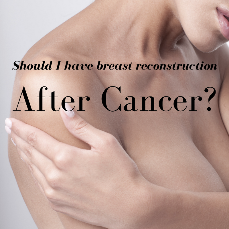 Opinion Breast reconstruction surgeon very much