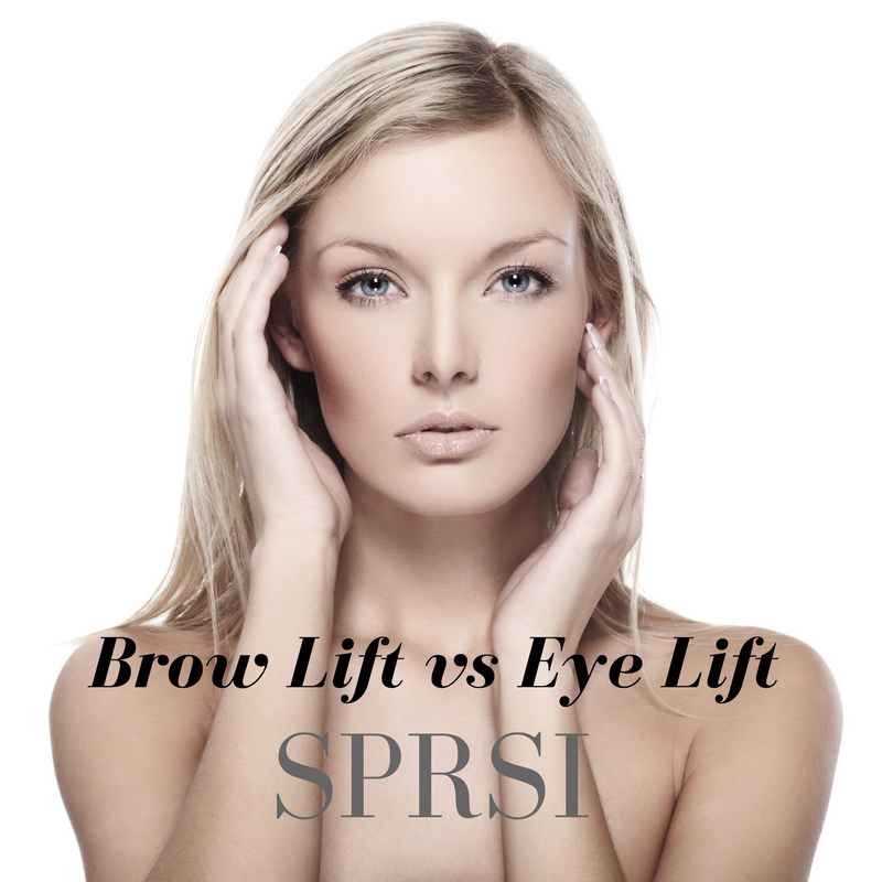 brow lift vs eye lift nashville plastic surgeon